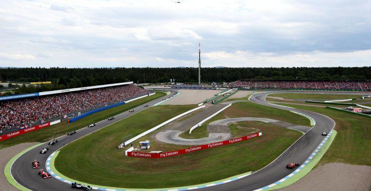 Duitse GP mogelijk na 2018 weer weg
