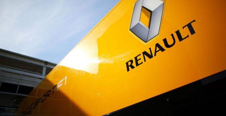 Renault voert druk op Red Bull en McLaren op