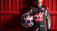 Afbeelding: Grosjean traint zich suf voor de Australische Grand Prix