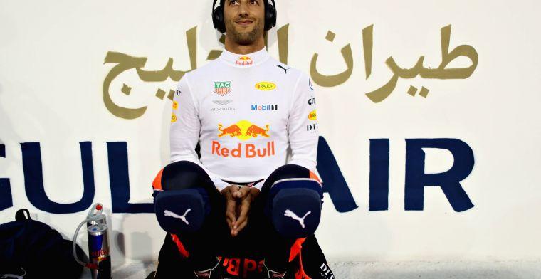 Ricciardo sluit zich aan bij Hamilton