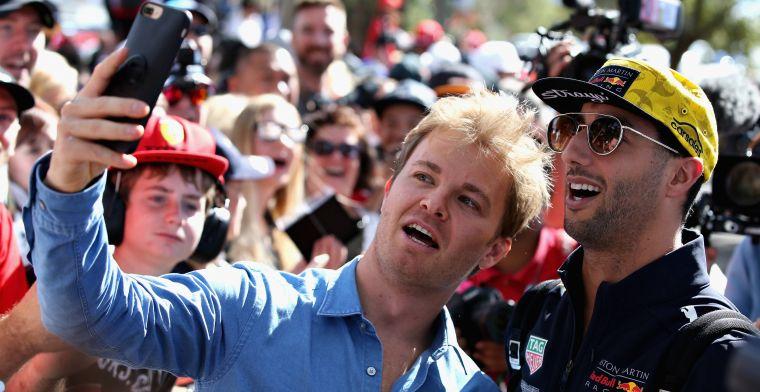 Rosberg: ''Hamilton heeft altijd mindere fases''