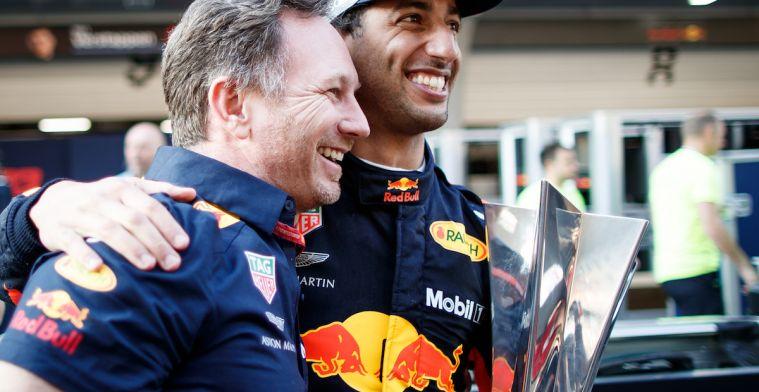 'Red Bull presteert op hetzelfde niveau als Mercedes en Ferrari'