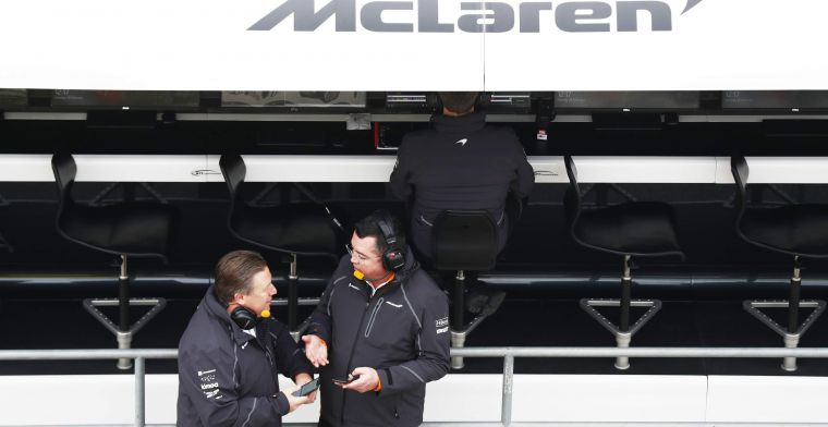 Grote druk op het management van McLaren