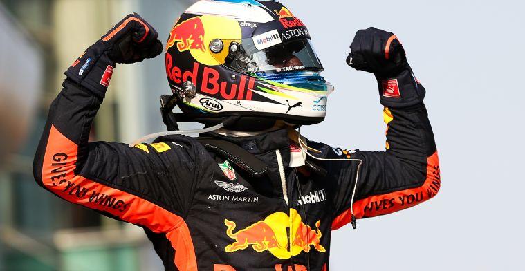 Ricciardo: Winst zeker niet slecht voor mogelijke teamswitch