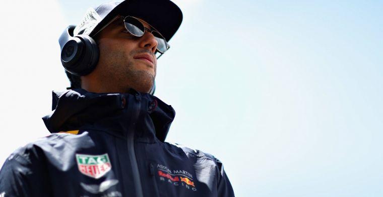 Daniel Ricciardo laat zich nogmaals uit over zijn contract