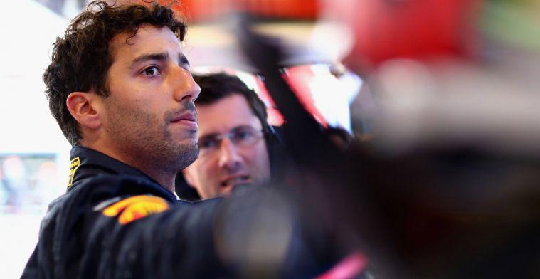 Ricciardo ontkent schuld aan zijn crash met Verstappen in Azerbeidzjan