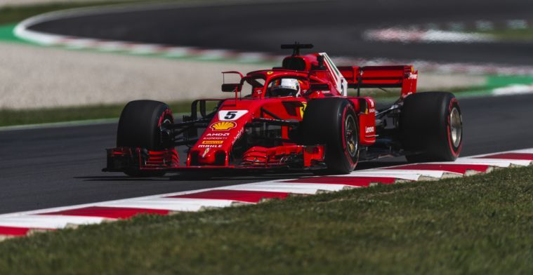 Vettel: Ferrari would have been worse off without new Pirelli tyres in Spain