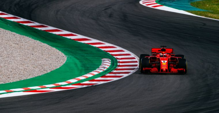 Vettel unhappy with Ferrari: We were not quick enough