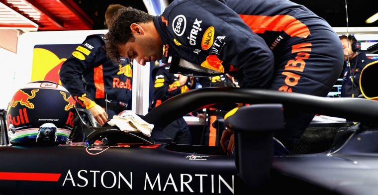 Daniel Ricciardo blikt terug op het Spaanse Formule 1 weekend