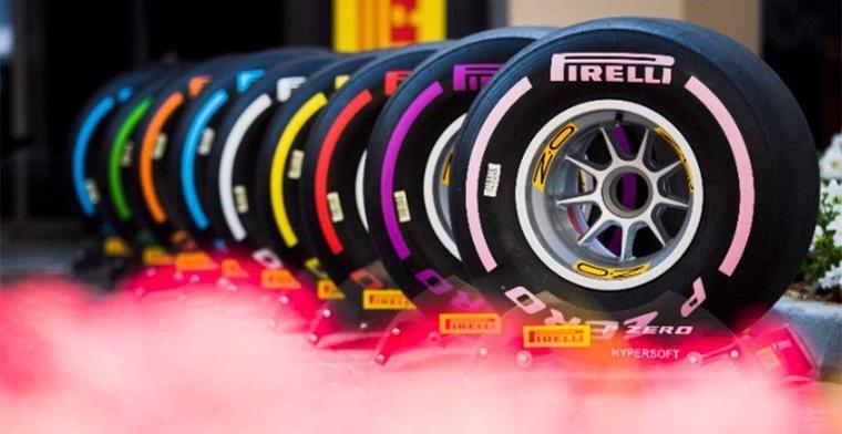 Pirelli heeft geen trek in biedingsoorlog in de Formule 1