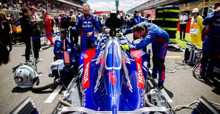 Progressie Honda geblokkeerd door problemen Toro Rosso