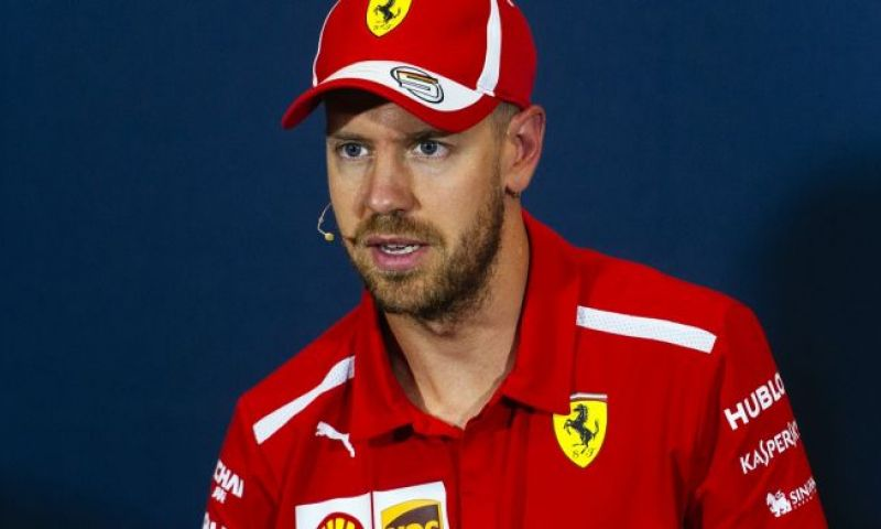 Image: Vettel unhappy with car set-up in Monaco