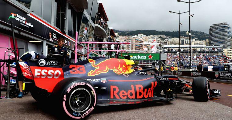 Geen straf voor Max Verstappen na VT1 Monaco
