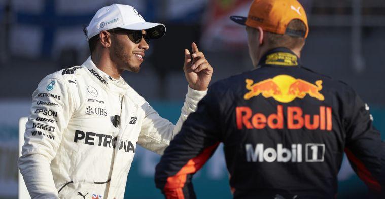 Hamilton: We zitten dichter achter Red Bull dan we hadden verwacht