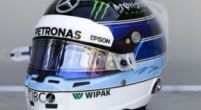 Image: Bottas wearing helmet inspired by Häkkinen