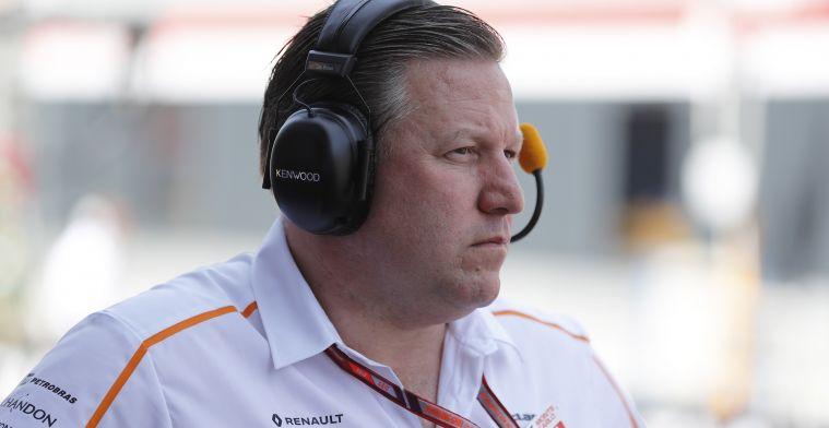 """Brown: """"Bezoek aan Detroit staat los van Alonso in IndyCar"""""""