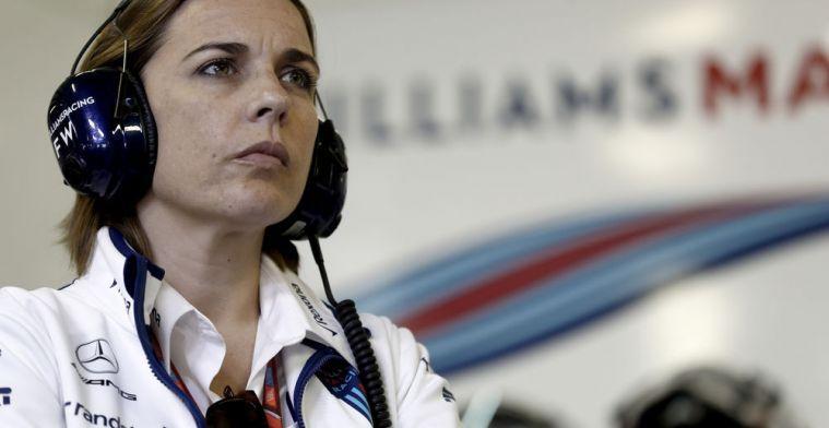 Williams heeft vertrouwen en richt haar pijlen op Paddy Lowe