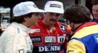 Image: Historische rivaliteit: Nigel Mansell en Nelson Piquet