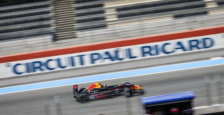 In de deze bochten gaat de actie plaatsvinden tijdens de GP van Frankrijk!