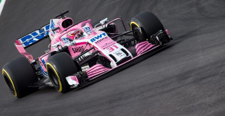 Force India benadrukt belang van technische wijzigingen in 2019