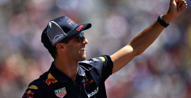 Ricciardo: 'Er moet voor mij ECHT een reden zijn om Red Bull te verlaten'