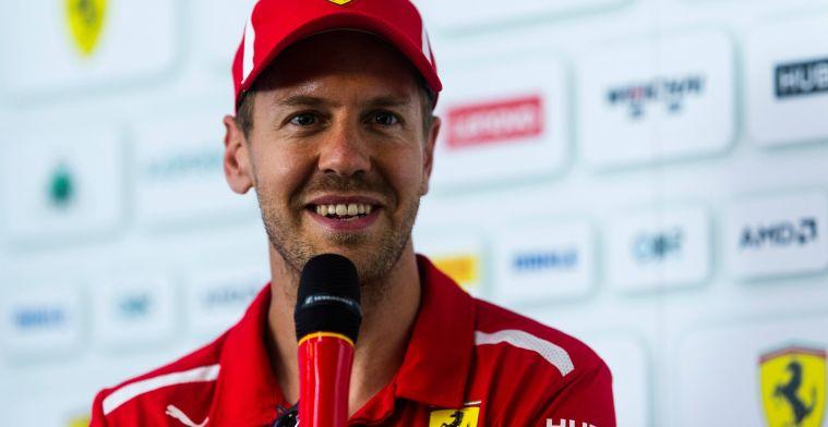 Vettel: ''Als de update groot is hoop ik niet dat die er komt''