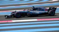 Afbeelding: Hamilton bekroont dominantie van Mercedes, Verstappen start vanaf de tweede rij