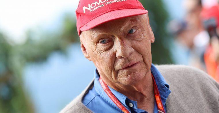 Lauda woest op Sebastian Vettel na startcrash