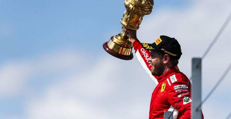 Ferrari heeft op technisch en mentaal gebied een tik uitgedeeld aan Mercedes