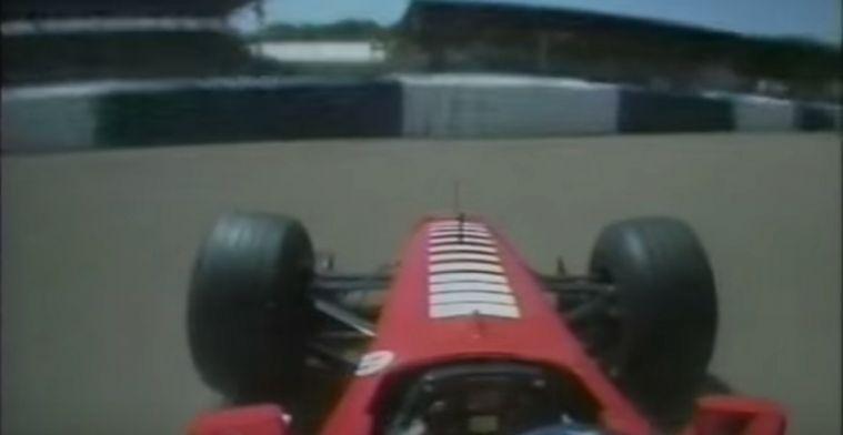 De dag dat Michael Schumacher zijn been brak op Silverstone