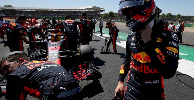 Verstappen: ''Ik reed op Silverstone met een Formule 2-motor''