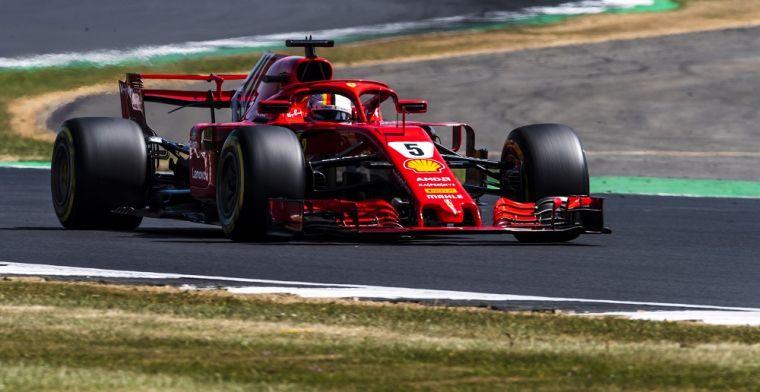 Ferrari heeft op dit moment meer vermogen dan Mercedes