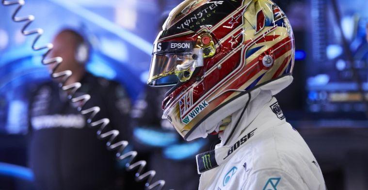 Lewis Hamilton is nog steeds de te kloppen coureur in 2018