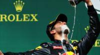 Afbeelding: Daniel Ricciardo kijkt iets te diep in zijn 'Schoentje'