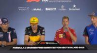 Afbeelding: TERUGKIJKEN: De FIA-rijderspersconferentie Duitse Grand Prix 2018