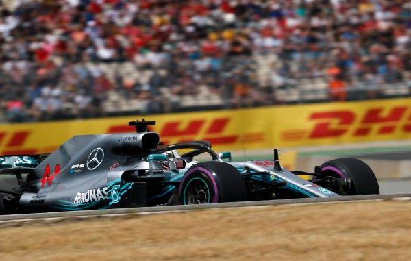 Lewis Hamilton moet naar de stewards na race op Hockenheim