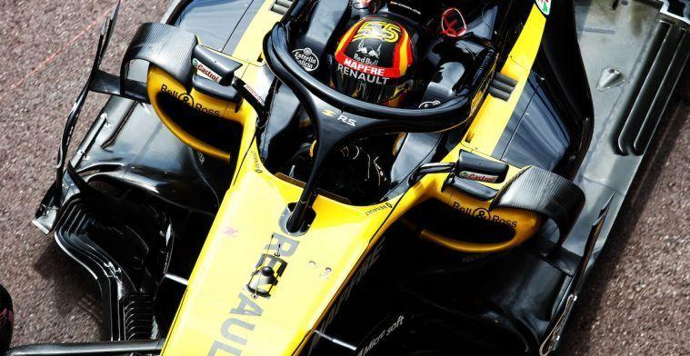 Sainz baalt van fout tijdens Grand Prix van Duitsland