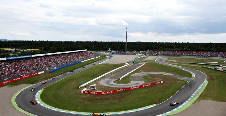 Samenvatting GP Duitsland: Lewis Hamilton stormt naar P1, Max blijft op P4