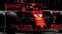 Afbeelding: Vettels crash vanaf P1 is de eerste in dertien jaar!