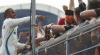 Image: Hamilton saw no need to dig back at Vettel