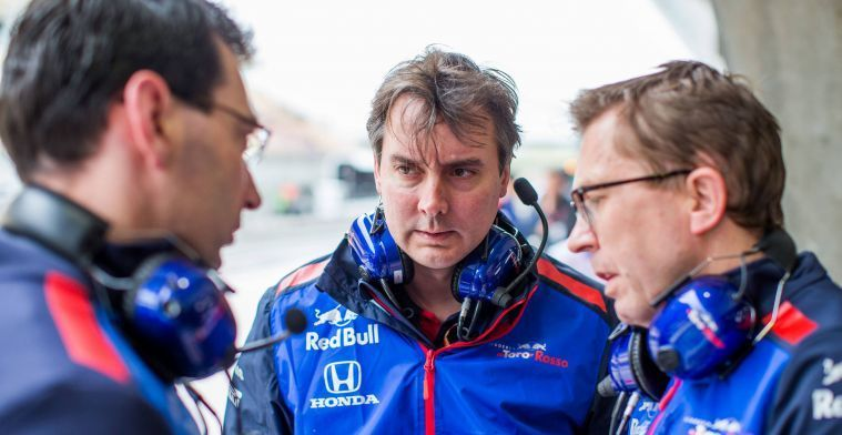 McLaren hires Toro Rosso technical director Key