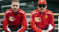 Image: Vettel and Raikkonen arrive at Hungaroring with black armbands