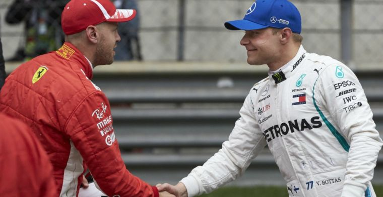 Vettel doesn't blame Bottas for collision