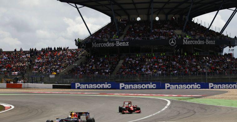 De Grand Prix van Duitsland kan in 2019 op meerdere circuits plaatsvinden