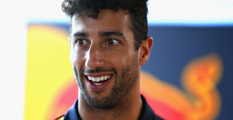 Renault heeft 20 miljoen pond per jaar over voor Daniel Ricciardo