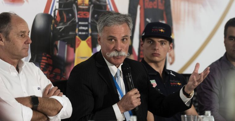 Carey bevestigt problemen rondom streamingdienst van F1
