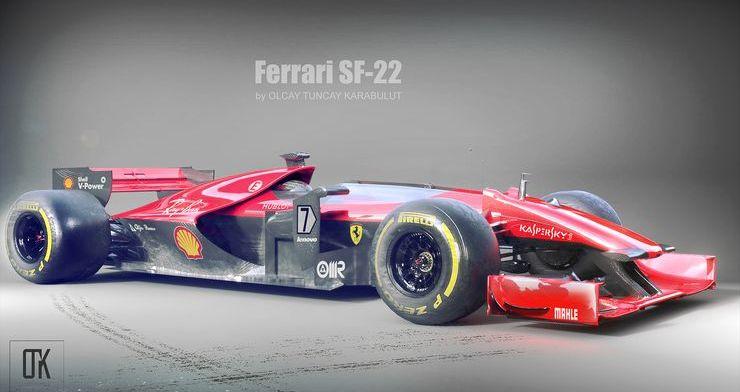 F1-wagens van de toekomst…?