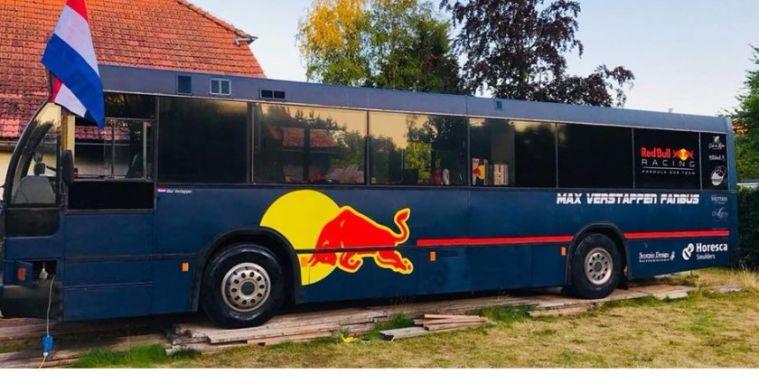 Max Verstappen Fanbus te koop, in enkele uren duizenden reacties