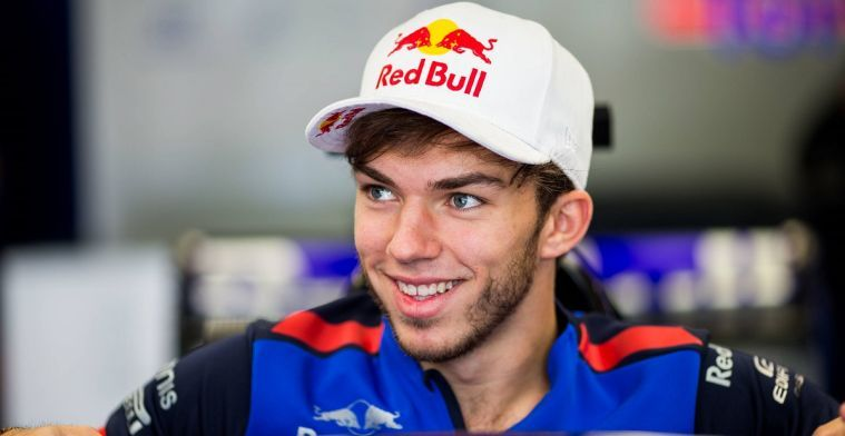 Gasly: I started building Honda relationship