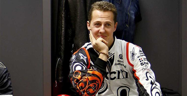 Michael Schumacher vertrekt helemaal niet naar Mallorca